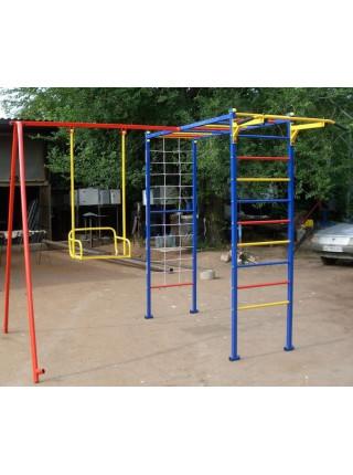 Детский спортивно-игровой комплекс с качелями Da-812