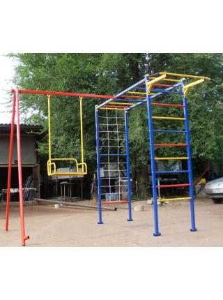 Дитячий спортивно-ігровий комплекс з гойдалками Da-812