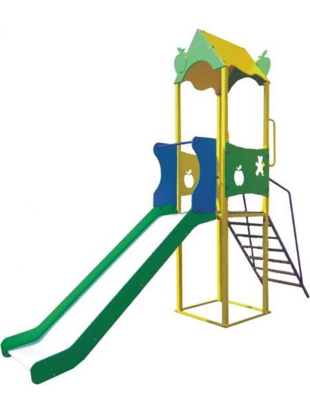 Гірка для дитячого майданчика Яблучко