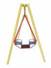 Дитяча вулична гойдалка-човник