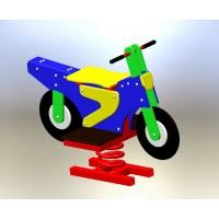 Гойдалка на пружинці Мотоцикл