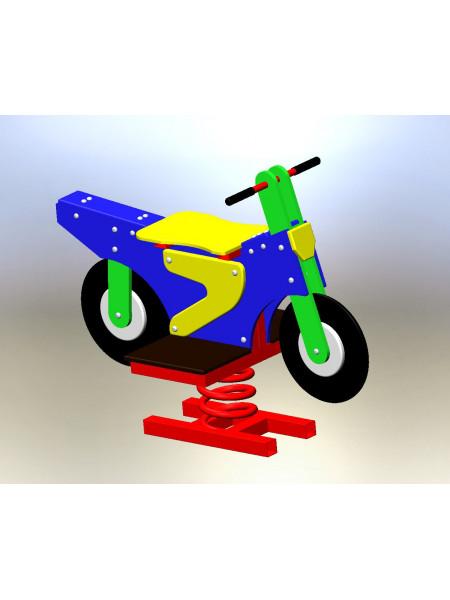 Качели на пружинке Мотоцикл