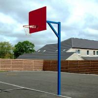 Стойка баскетбольная с щитом и кольцом
