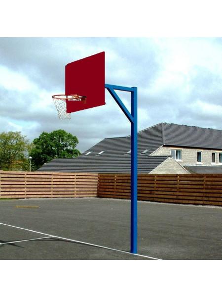 Стойка баскетбольна з щитом і кільцем