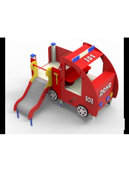"""Дитячий майданчик """"Пожежний автомобіль"""""""