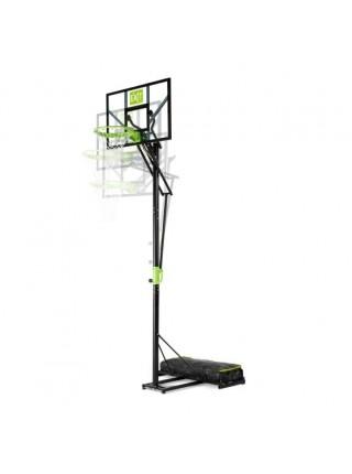 Пересувний баскетбольний щит Polestar EXIT green/black