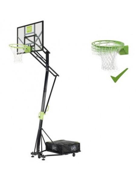 Стойка баскетбольна мобільна EXIT Galaxy + кільце з амортизацією