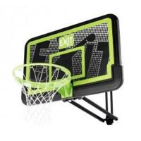 Баскетбольный щит Exit Galaxy настенный регулируемый чёрный