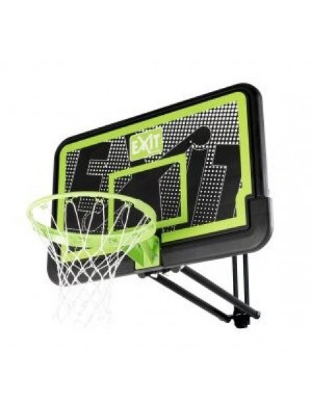 Баскетбольний щит Exit Galaxy настінний регульований чорний