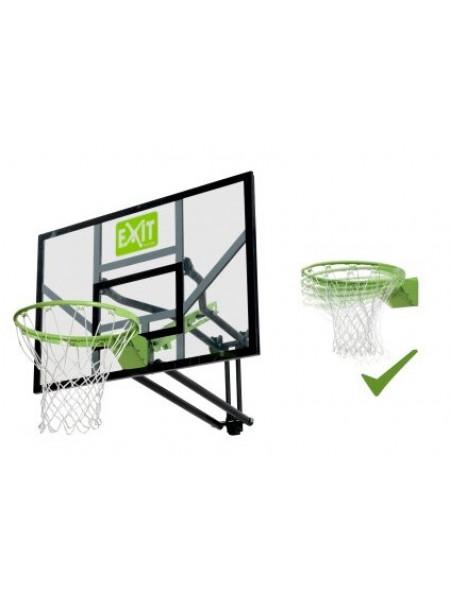 Баскетбольний щит Exit регульований + кільце з амортизацією