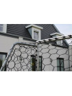Футбольные ворота EXIT Scala алюминиевые 220х120 см