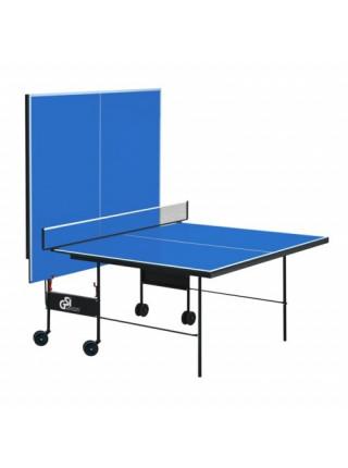 Теннисный стол складной Атлет усиленный синий