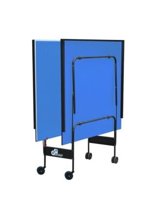 Тенісний стіл складаний Атлет посилений синій