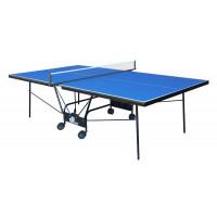 Стол для тенниса складной Компакт Люкс синий