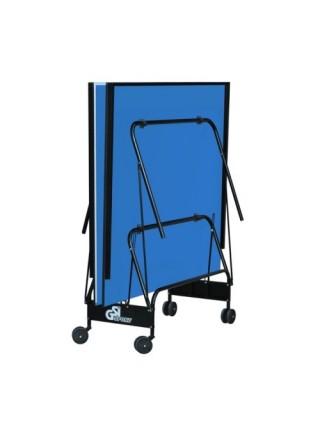 Стіл для тенісу складаний Компакт Люкс синій