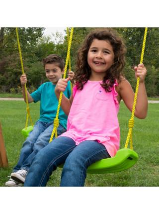 Качели детские  Swing Hapro зелёное яблоко