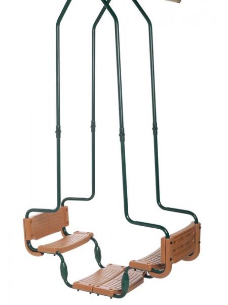 Подвійні гойдалки для дитячого майданчика Hapro