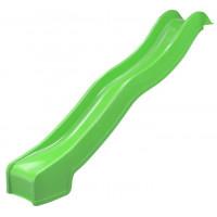 Горка пластиковая Hapro 3 м яблочно-зелёная