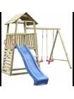 Дерев'яний дитячий майданчик для дачі Бармалей
