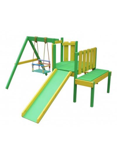 Игровой комплекс для дачи Кузнечик
