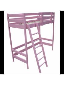 Деревянная кровать-чердак Барби 160*70 см