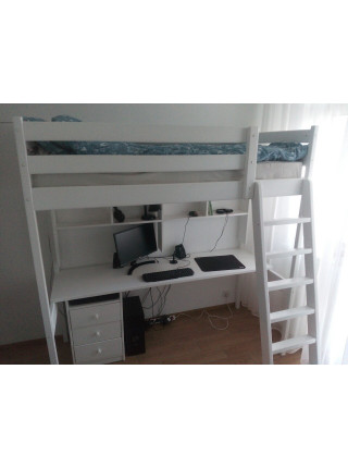 Ліжко-горище з робочою зоною Соло