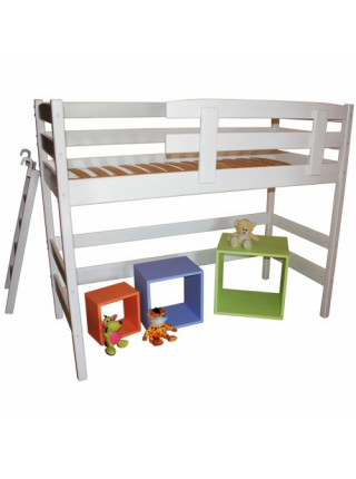 Деревянная кровать-чердак Сновик 190*80 см