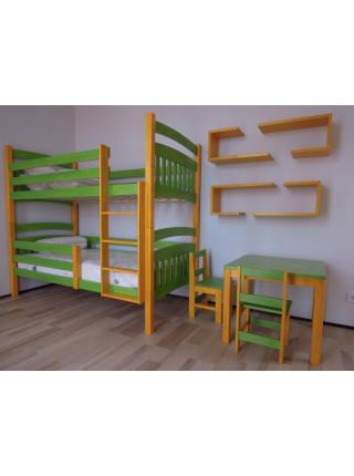 Двох'ярусне ліжко-трансформер Анока-2 190 х 80 см
