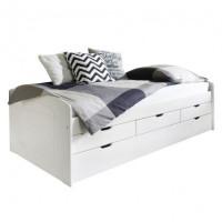 Детская кровать с выдвижным спальным местом Бук