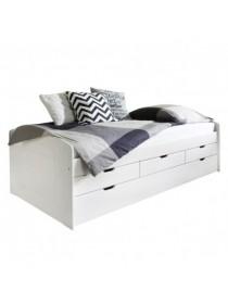 Дитяче ліжко з висувним спальним місцем Бук