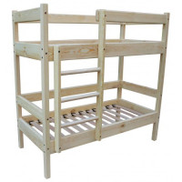 Детская двухъярусная кровать 140Х60 см