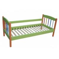 Дитяче ліжко односпальне Веселка