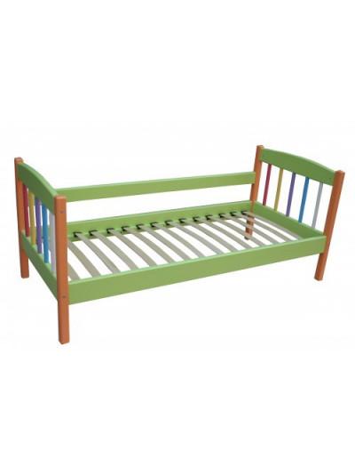 Детская кровать односпальная Радуга