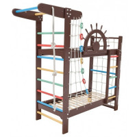Двухъярусная кровать-спортивный уголок 190 х 80 см