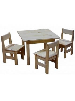 Столик детский деревянный И-1