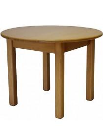 Столик детский круглый из сосны