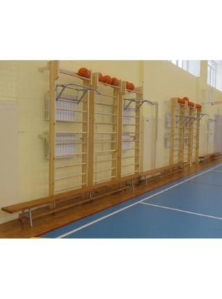 Шведская стенка для спортивного зала 260 см