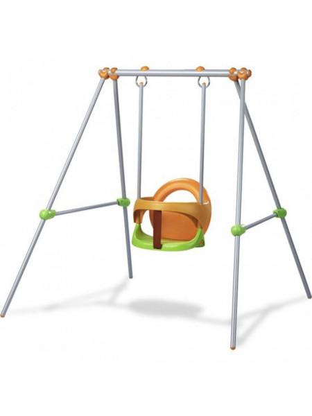 Качели детские подвесные на металлической стойке