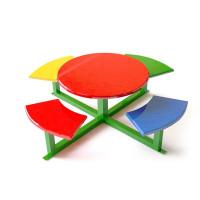 Детский столик с лавками