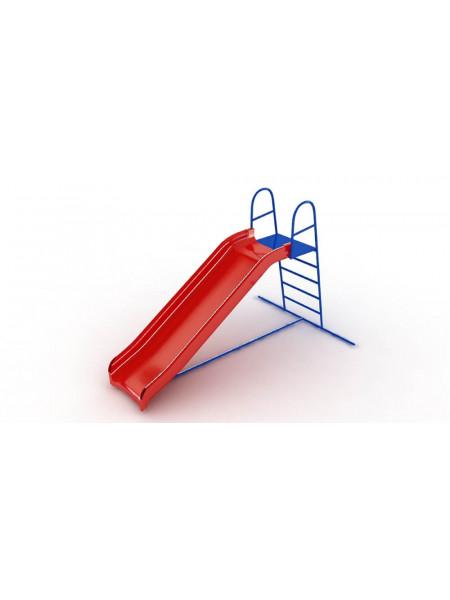 Горка из пластика для детской площадки