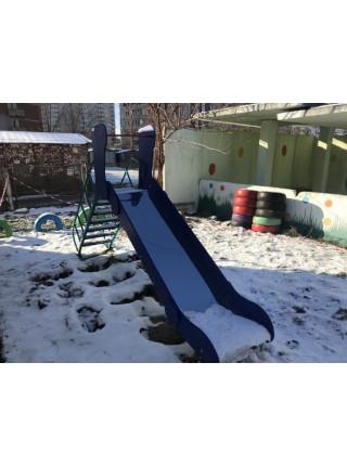 Горка для детской площадки Ласточка 1.2 м