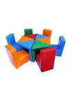 Набор игровой мягкой мебели Цветик-разноцветик