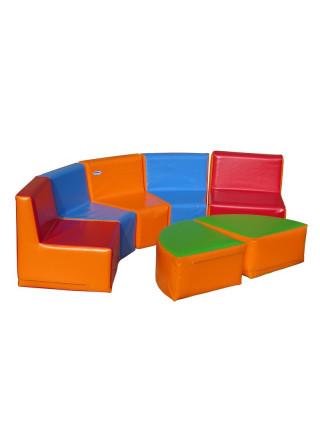 Набор игровой мягкой мебели Уголок