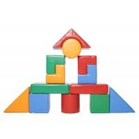 Конструктор з м'яких блоків Будівельник-6