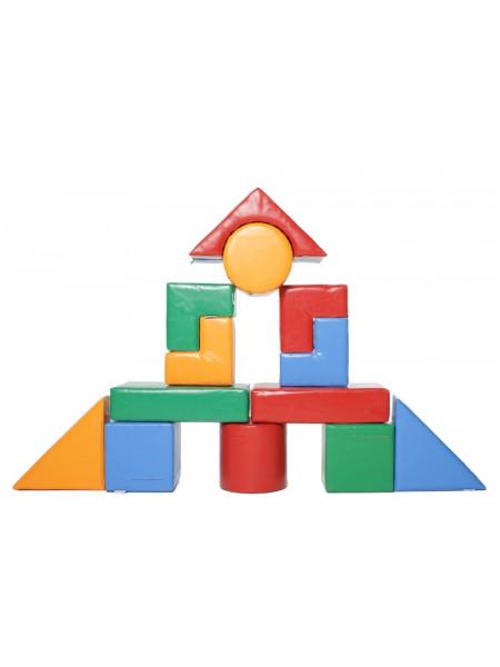 Конструктор из мягких блоков Строитель-6