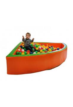 Сухий басейн з кульками Кут 1,5 м