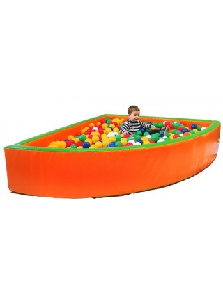 Сухой бассейн с шариками Угол 1,5 м