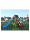 Игровая детская площадка Барвинок с двумя горками