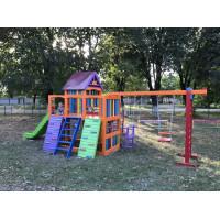 Детская деревянная площадка Пинокио