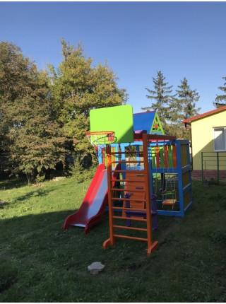 Дитячий дерев'яний майданчик Пінокіо